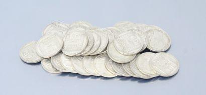 Pièces en argent de type 10 francs