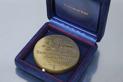 MONNAIE DE PARIS  Médaille en bronze pour...