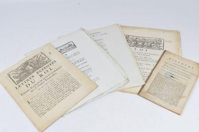 COMMERCE DES COLONIES. — Ensemble 5 brochures....