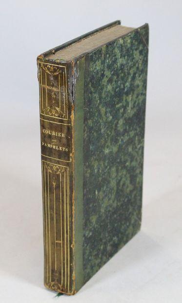 COURIER (Paul-Louis). Collection complète...