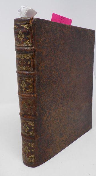 RECUEIL d'édits et d'ordonnances de 1669,...