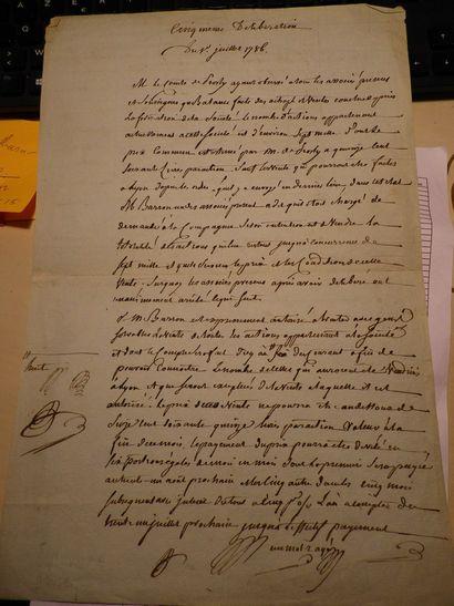 COMPAGNIE DES INDES  Contrat en date du 1er...