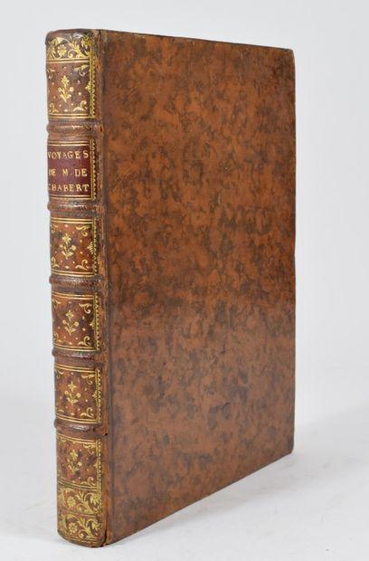 CHABERT (Joseph Bernard, marquis de). Voyage...