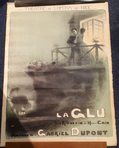 Gabriel DUPONT, La Glu.  Drame musical en...