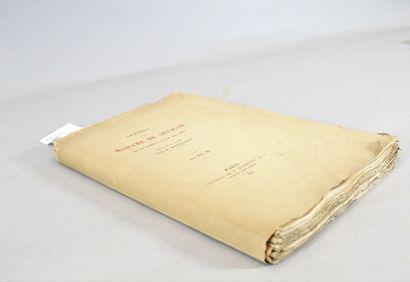 SEVIGNE (Madame De) & MONMERQUE  Lettres...