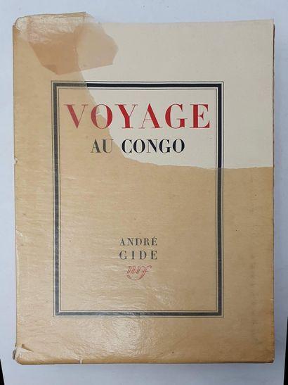 GIDE André, Voyage au Congo suivi du Retour...