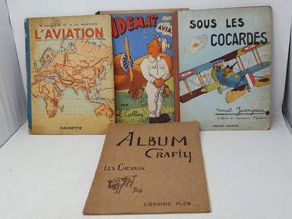 [DIVERS - AVIATION]  DE MONTGON A - L'aviation,...
