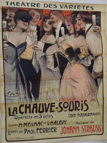 Johann STRAUSS, La Chauve-Souris.  Opérette...