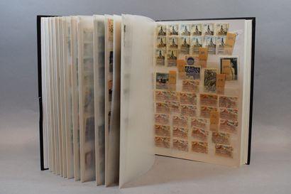 Ensemble de marques postales et de lettres...