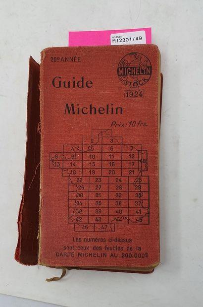 [DIVERS -AUTOMOBILIA]  MICHELIN Guide rouge...