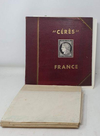 Une collection de France, neuve et oblitérée....