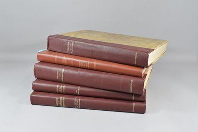 L'ILLUSTRATION Réunion de quatre volumes...