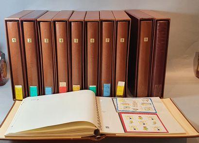 Collection de France en 11 volumes. Depuis les origines.  Qualité mélangée dans...