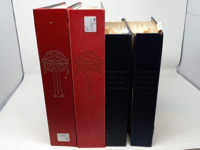Deux volumes d'ex colonies francaise, bon...