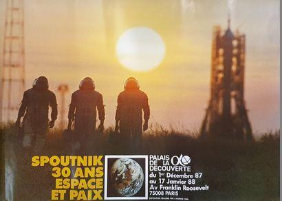 11 affiches sur le thème de l'espace :  -...
