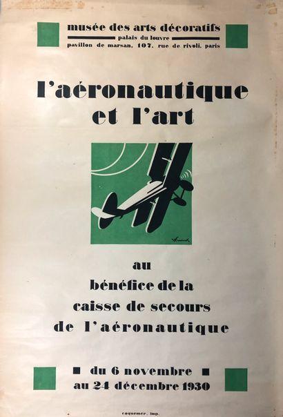 L'aéronautique et l'art, musée des Arts Décoratifs...