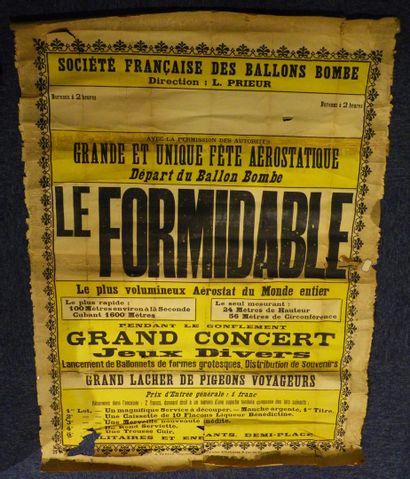Société française des ballons bombe - Grande...