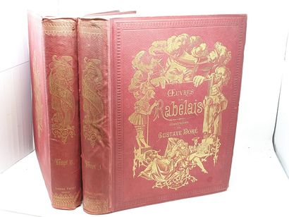 RABELAIS - oeuvres, illustrations de Gustave...