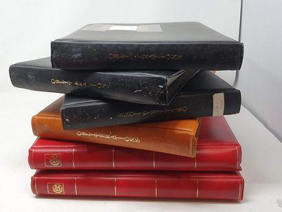 Deux volumes de timbres neufs, Yvert et Tellier...