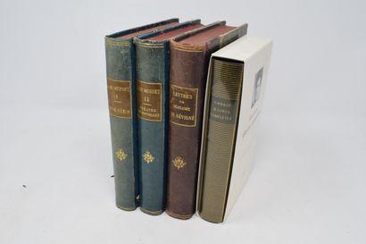 [DIVERS]  Lot de quatre ouvrages comprenant...