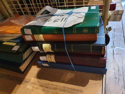 Six volumes dont forte faciale et divers...