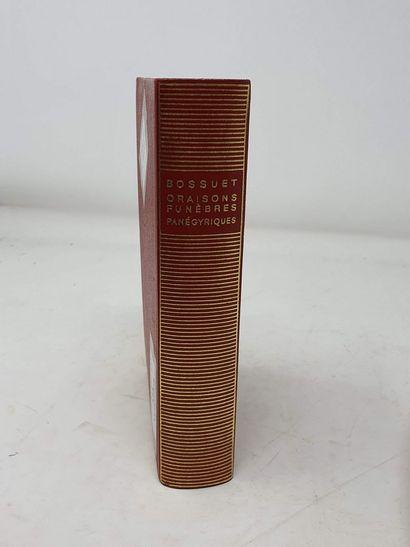 BIBLIOTHEQUE DE LA PLEIADE  BOSSUET 1 vol....