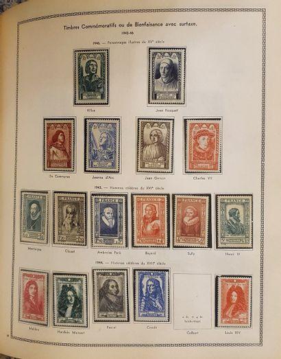 Une collection de France, états divers, quelques classiques  On y joint un volume...
