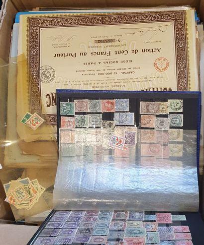 Vrac - France moderne - timbres étrangers