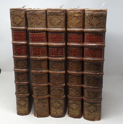 MORERI. Le Grand dictionnaire historique....