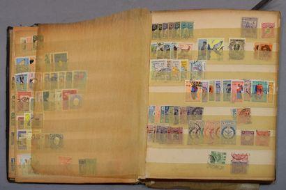 En 5 volumes, collection ancienne, tous pays...