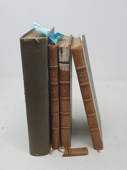 [DIVERS] 4 vol. :  BARDECHE Maurice & BRASILLACH...