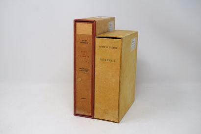 [DIVERS]  Ensemble de 2 volumes :    DU MAURIER...