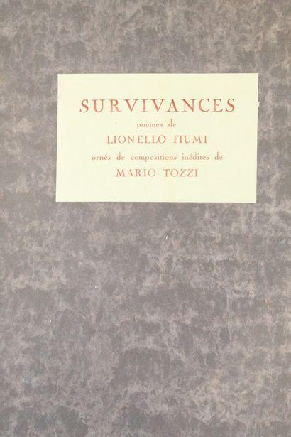 FIUMI Lionello (1894-1973) & TOZZI Mario...