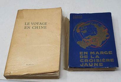 Deux éditions originales :  - En marge de...