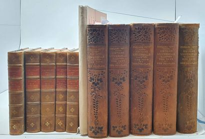 [DIVERS] 11 vol. :    MICHELET - Histoire...
