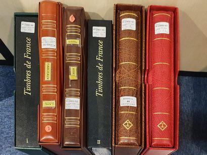 FRANCE, ensemble de 6 volumes :  - Deux volumes...