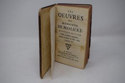 [DIVERS]  Oeuvres de Monsieur de Molière,...