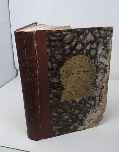 PARAMOUNT livre d'or 1928-1929 [ Cinéma ]...