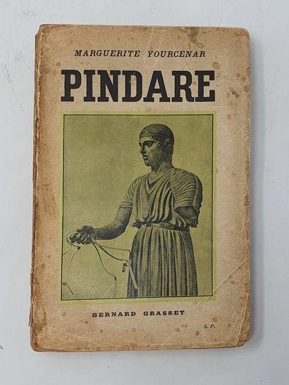 YOURCENAR Marguerite, Pindare, broché avec...