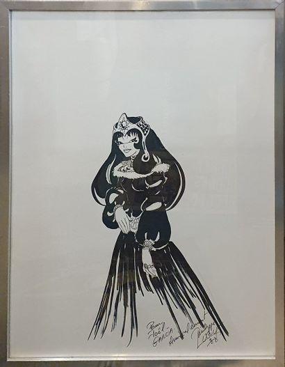 [BANDE DESSINEE]  LUGUY Philippe (1948)  Princesse...