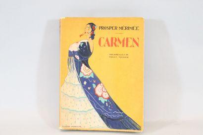 MERIMEE (Prosper)  Carmen. Colomba. Illustré...