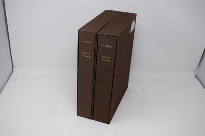 [EDITIONS ROISSARD]  DE BROSSES - Journal...