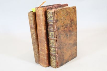 Ensemble de 3 ouvrages :  COYER (abbé). Bagatelles...