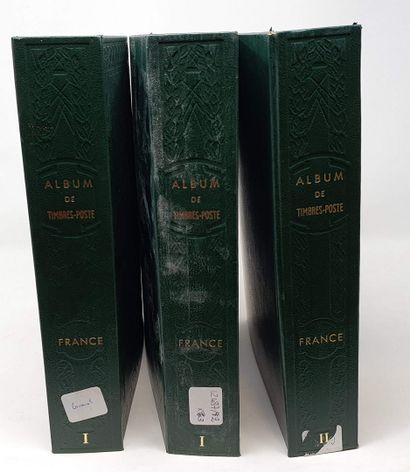 Trois volumes de france dont faciale, état...