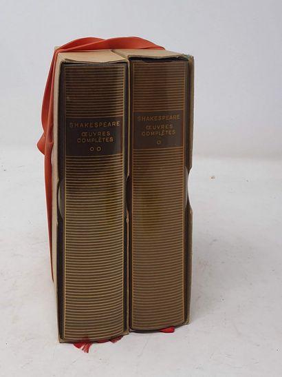 BIBLIOTHEQUE DE LA PLEIADE  2 vol.  SHAKESPEARE...