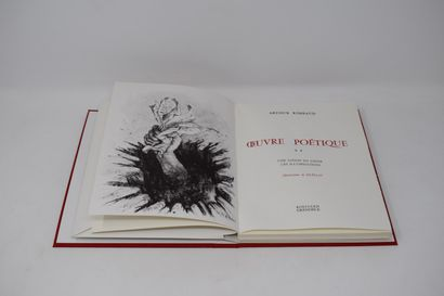 [EDITIONS ROISSARD]  RIMBAUD - Oeuvres poétique...