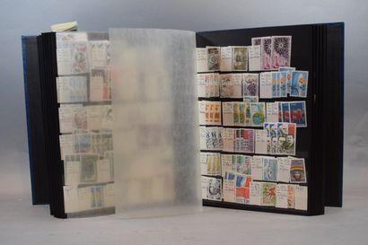Un vrac en 19 volumes, timbres du monde entier dont Allemagne bien représentée