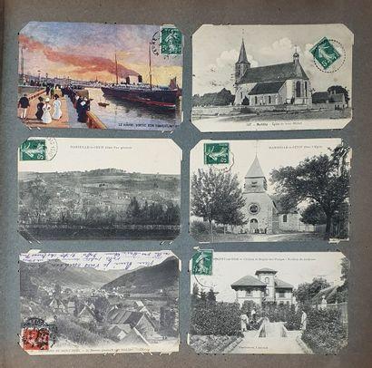 Un album de cartes postales anciennes. Quelques jolis clichés