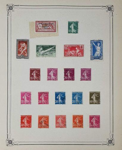 Une collection de France, belle partie classique et fin de catalogue très structuré...