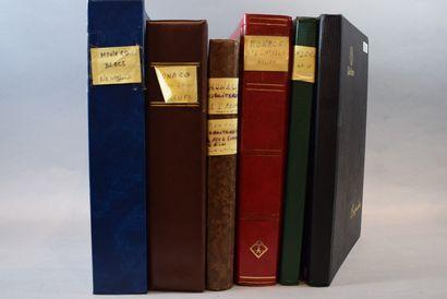En six volumes un stock Monaco Andorre, principalement...